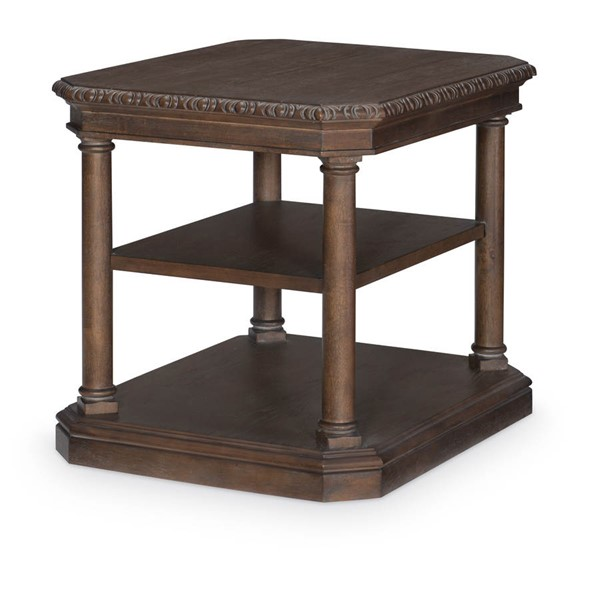 Legacy Furniture Refined Rustic by Rachael Ray Brown End Table LGC-9050-505