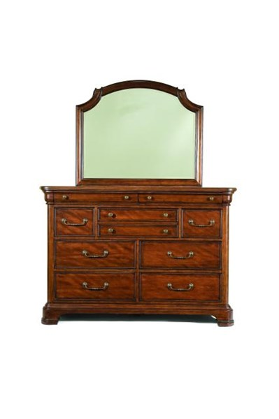 legacy furniture evolution okoume bureau and mirror the classy home. Black Bedroom Furniture Sets. Home Design Ideas