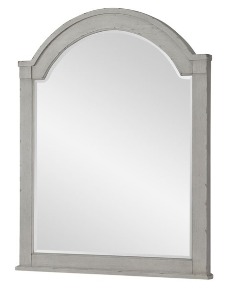 Legacy Furniture Belhaven Weathered Plank Arched Dresser Mirror LGC-9360-0200