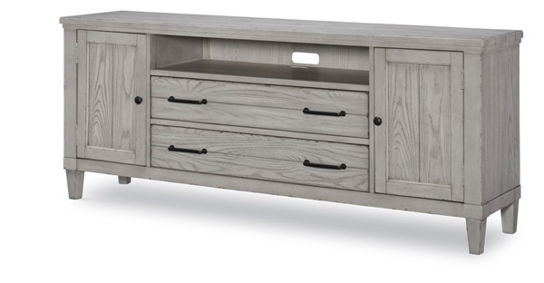 Legacy Furniture Belhaven Weathered Plank Entertainment Console LGC-9360-023