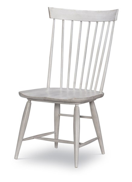 2 Legacy Furniture Belhaven Weathered Plank Windsor Side Chairs LGC-9360-140