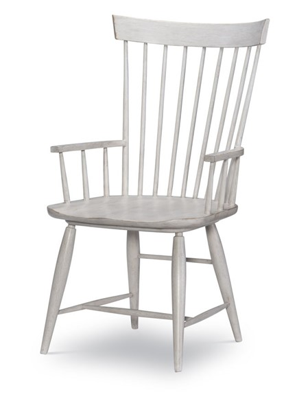 2 Legacy Furniture Belhaven Weathered Plank Windsor Arm Chairs LGC-9360-141