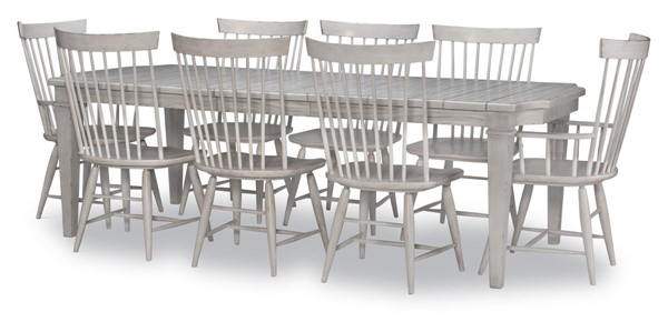 Legacy Furniture Belhaven Weathered Plank 9pc Dining Room Set LGC-9360-222-DR-S1
