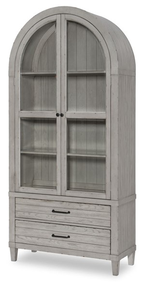 Legacy Furniture Belhaven Weathered Plank Display Cabinet LGC-9360-570K
