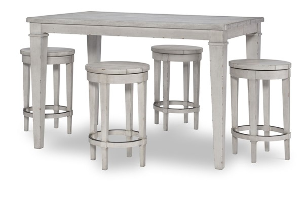 Legacy Furniture Belhaven Weathered Plank 5pc Counter Height Bar Set LGC-9360-9-BAR-S1