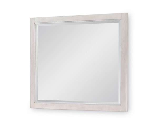Legacy Furniture 11 West Cashmere White Wall Mirror LGC-9600-0200