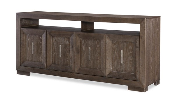 Legacy Furniture Facets Mink Silver Entertainment Console LGC-9760-023