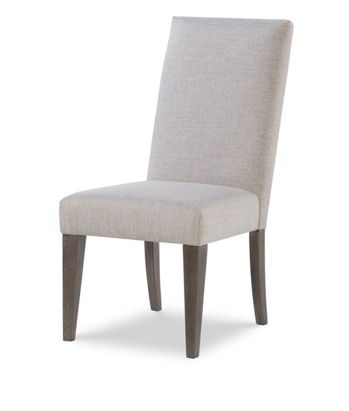 2 Legacy Furniture Facets Mink Silver Side Chairs LGC-9760-140
