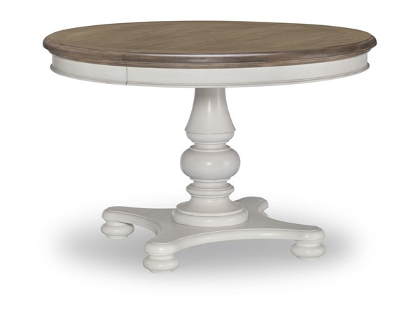 Legacy Furniture Farmdale Aged Taupe Pedestal Table LGC-9770-521K