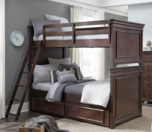 Legacy Kids Canterbury Bunk Beds with Trundle Storage LGC-9814-8110K-TRNDL-BNK-BED-VAR