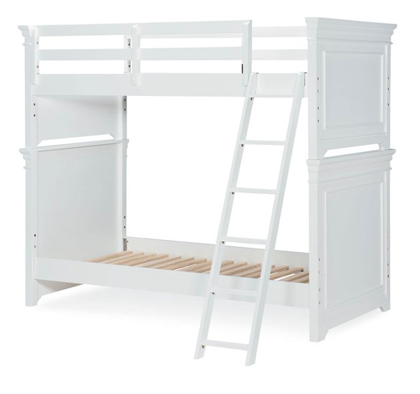 Legacy Kids Canterbury Natural White Twin Bolting Bunk Rails with Slat Rolls LGC-9815-8110