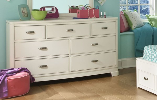 Park City Contemporary White Wood Dresser LGC-9910-1100