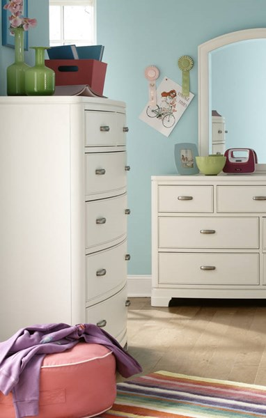 Park City Contemporary White Drawer Chest LGC-9910-2200