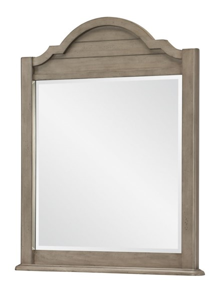 Legacy Kids Farm House Old Crate Brown Arched Dresser Mirror LGC-9950-0100