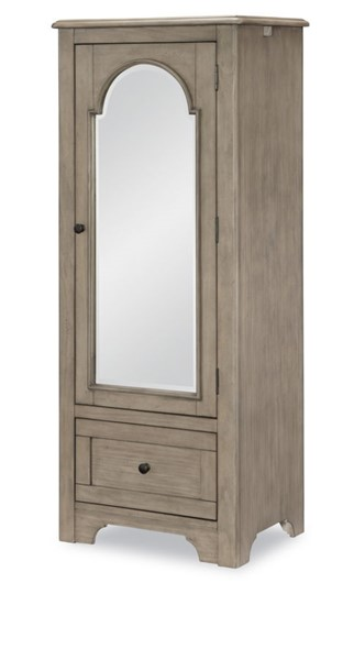 Legacy Kids Farm House Old Crate Brown Mirrored Door Chest LGC-9950-2400