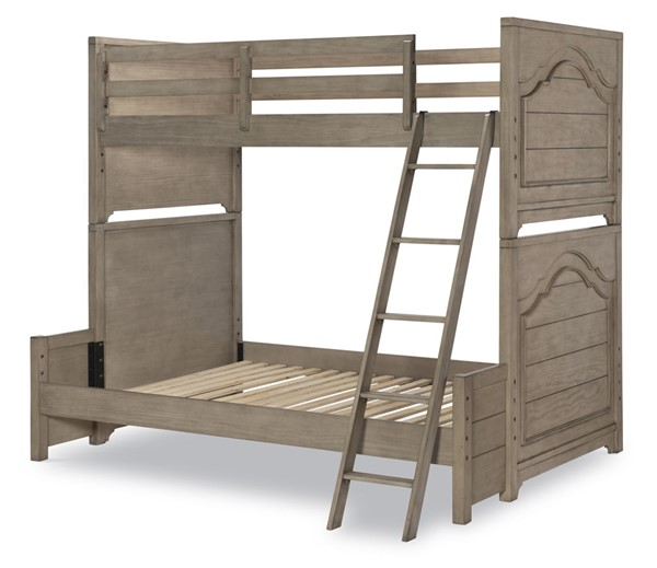 Legacy Kids Farm House Old Crate Brown Twin over Full Bunk Bed LGC-9950-8140K