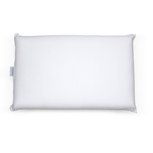 Leggett and Platt White Latex Foam Queen Pillow LGT-QG0183