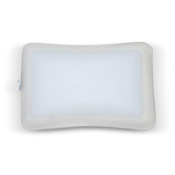 Leggett and Platt White King-Cal King Gel Memory Foam Pillow LGT-QG0194