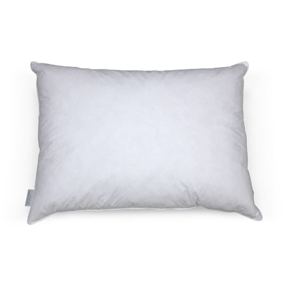 Leggett and Platt White Feather Down Queen Pillow LGT-QG0201