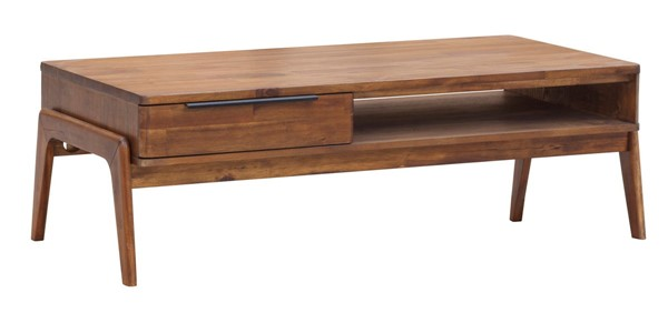 LH Imports Remix Solid Acacia Coffee Table LHI-REM032