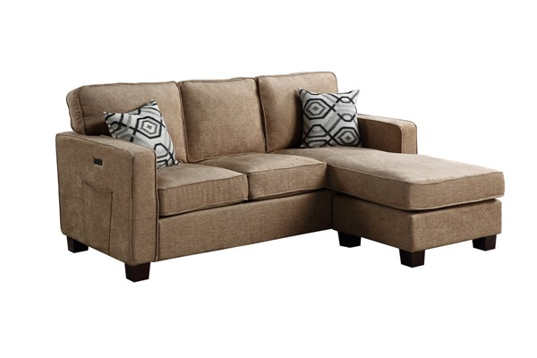 Lilola Home Isaac Fabric Sectionals LILO-8181-SEC-VAR