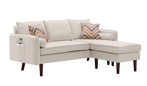 Lilola Home Mia Sectionals With Pillows LILO-89628-SEC-VAR