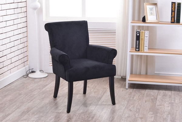 Calla Elegant Fabric Solid Wood Padded Chairs LN-36261-01U-CH-VAR
