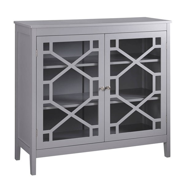 Fetti MDF Tempered Glass Large Cabinets LN-650210-AC-VAR