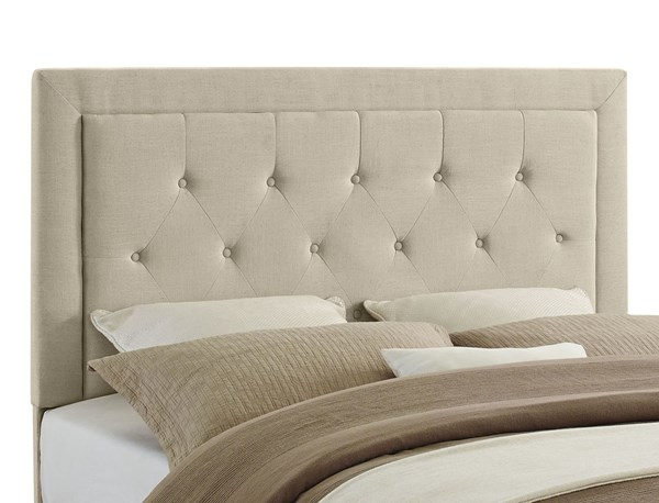 Clayton Fabric Foam MDF Full / Queen Headboard LN-881005-BEDS-VAR
