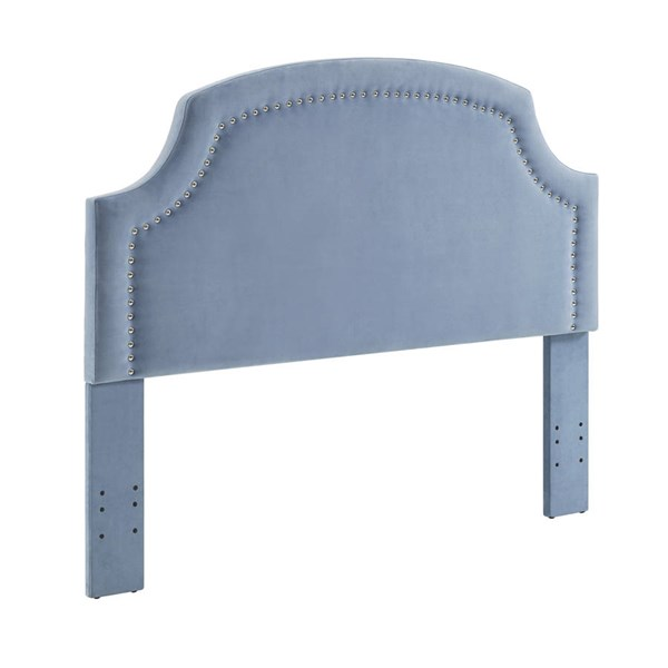 Regency Blue Ocean Fabric Foam MDF Full / Queen Headboard LN-881010BLU01U