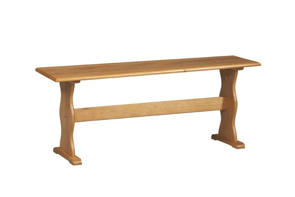 Chelsea Traditional Natural Solid Wood Bench LN-90367N2-01-KD-U