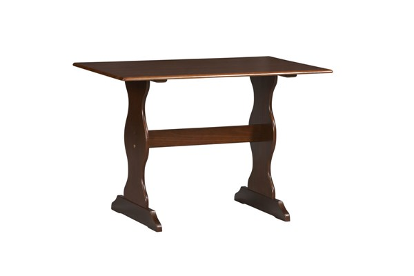 Chelsea Traditional Walnut Solid Wood Table LN-90368WAL-01-KD-U