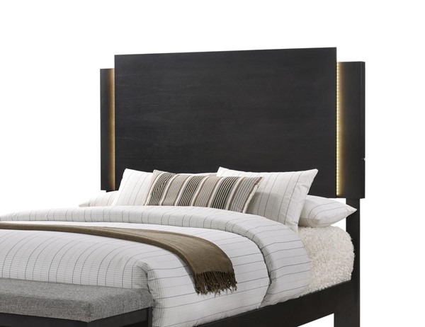 Lane Home Burbank Charcoal Grey King Headboard Only LNF-1042-66