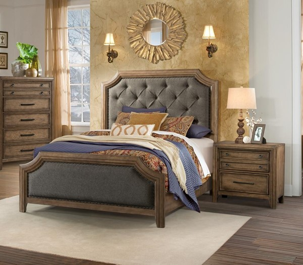 Lane Furniture Urban Charm Smoked 2pc Bedroom Set With