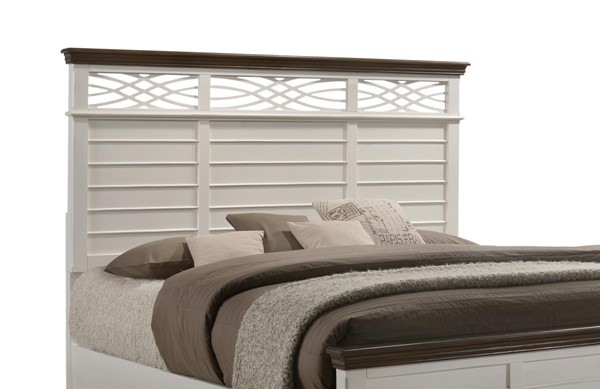 Lane Home Bellebrooke White King Headboard Only LNF-1058-66