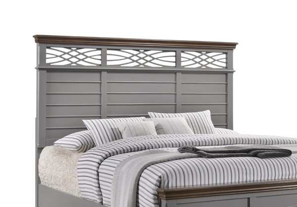 Lane Furniture Bellebrooke Grey King Headboard Only LNF-1059-66