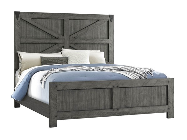 Lane Furniture Old Forge Grey Panel Beds LNF-1062-BEDS-VAR