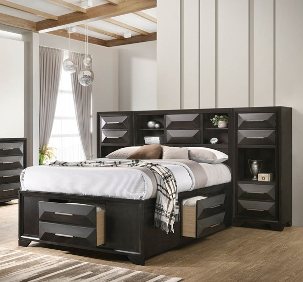 Lane Furniture Aria Graphite Full Chest Bed LNF-1063-71-F-BED