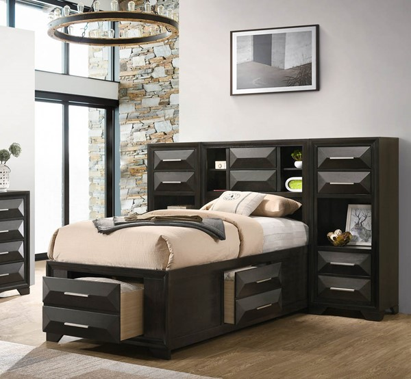 Lane Furniture Aria Wood Chest Beds LNF-1063-71-BEDS-VAR