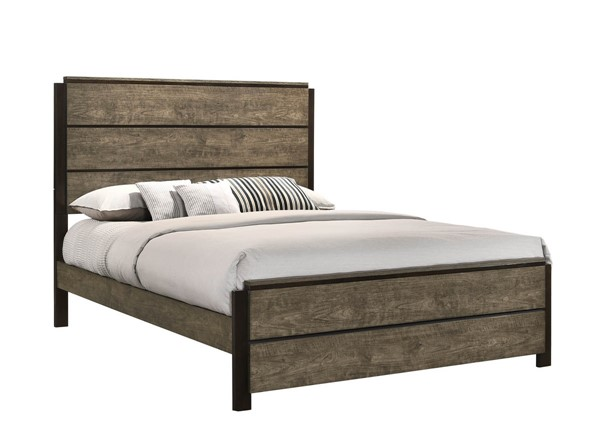 Lane Furniture Uptown Cherry Ebony Panel Beds LNF-1065-BEDS-VAR