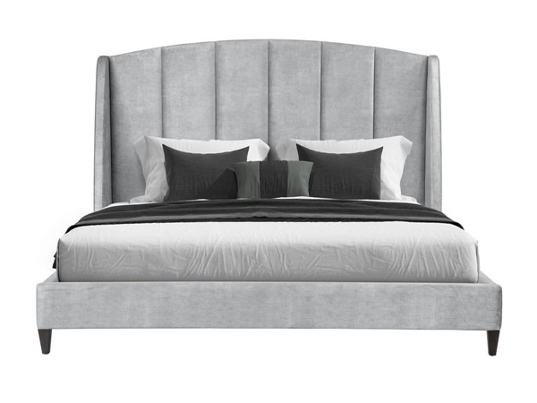 Lane Home Furnishings Marquette Gray Fabric Beds LNF-11049-03-BED-V