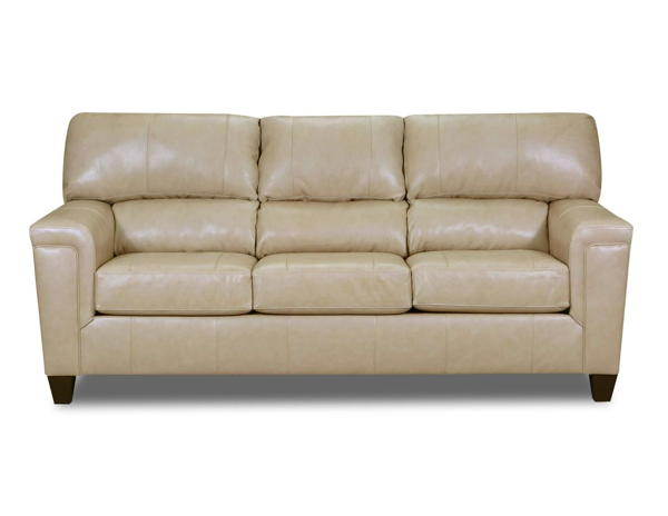 Lane Furniture Soft Touch Putty Leather Sofa The Classy Home