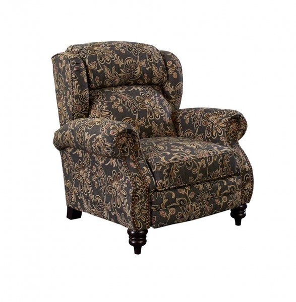 Norwich Ambrosse Twilight Fabric Norwich High-Leg Recliner LNF-2681P-1241-13