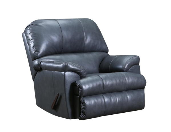 Lane Furniture Soft Touch Fog Leather Recliner The