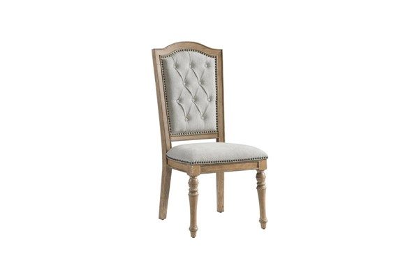 2 Lane Furniture Urban Charm Wheat Upholstered Dining Chairs LNF-5048-62-2
