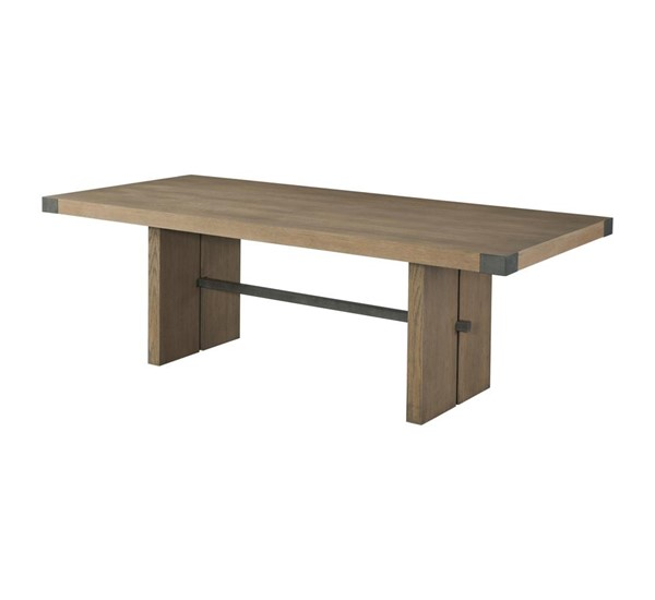 Lane Furniture Urban Swag Oak Trestle Base Table LNF-5054-59
