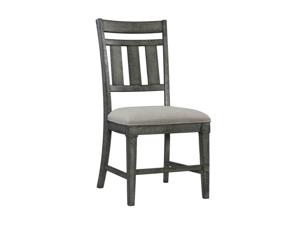 2 Lane Furniture Old Forge Grey Dining Chairs LNF-5062-52-2