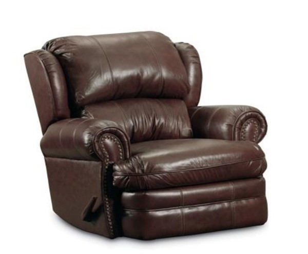 Hancock Traditional Vinyl Fabric Leather Rocker Recliner LNF-5421-5114-21