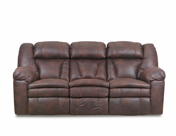 Lane Furniture Bowen Redwood Leather Reclining Sofa LNF-57008-65-Bowen-Redwood
