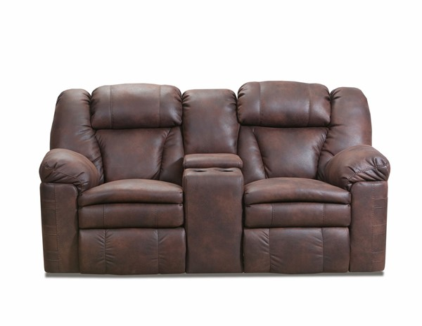 Lane Furniture Bowen Redwood Power Reclining Loveseat with Console LNF-57008P-63-Bowen-Redwood